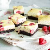 American classics among themselves: Raspberry Cheesecake Brownies   – special ca…