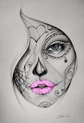 #zeichnungen #mädchen #tattoo #mdchen #ideen #bein