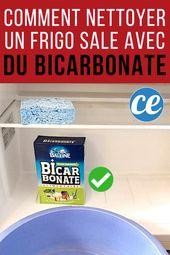 ¿Venta de nevera? Cómo limpiarlo de abajo hacia arriba con bicarbonato de sodio.