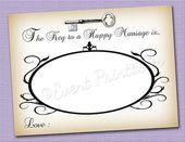 La clave para un Matrimonio Feliz Asesoramiento Tarjetas Imprimibles por EventPr…