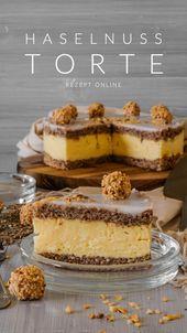 Haselnuss Torte