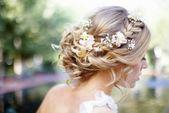 coiffures tressées romantiques pour accessoires de cheveux de mariage avec une coiffure décontractée - Best Hairstyles pour enfants