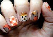 Ungewöhnliche Thanksgiving Nail Art Designs Ideen für die Herbstsaison 11   – Color Street