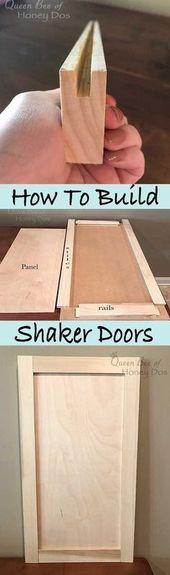 Wie man Shaker Doors baut