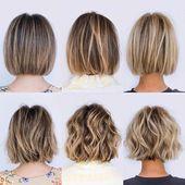 Neue Kurzhaarschnitte 2019 Gefärbtes Haar Blondes Haar Graues Haar und mehr #von …   – beauty
