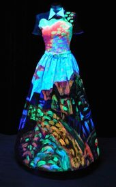 Glow in the Dark Party Dresses