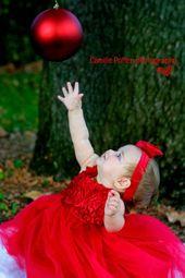 ¡Vestiditas de rojo para Navidad!