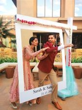 Still Trending – Indian Wedding Photo Booth Ideas that are Fresh & Fab, for Super Fun Wedding Photos ✨ – Witty Vows