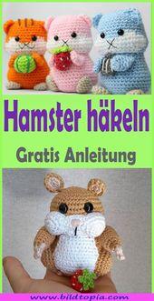 Photo of Crochet Amigurumi Hamster – Free DIY Instructions – Hand …