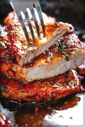 Easy Honey Garlic Pork Chops Recipe   Easy Pork Chops Ideas