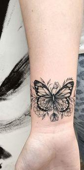 32 Wonderful Butterfly Tattoo Ideas For Pretty Tattoo Lovers