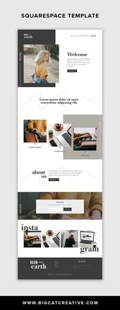Unearth Squarespace Template Kit VIEW DEMO THIS…