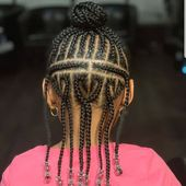 "#kidshairstyles #kidsbraids on Instagram: ""FEATURED @eshdidthat2 FOLLOW @kissegirl💋Beauty Brand💋Hair, Skin, & Nails . . .  #browngirlshair #cutekidsbraids #braidsfordays #braidsgang…"""
