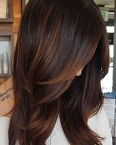 60 hairstyles with dark brown hair with highlights – cool style