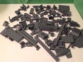 Ein halbes (1/2) Pfund Legos-Blöcke handsortiert 8 Unzen lose DUNKELGRAUE Steine #aff …   – Lego LOVE