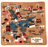 Pat Prichard Handkerchief Old Sturbridge Village Mass With Images