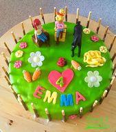 Geburtstagstorte für Kinder – Geburtstagstorte – # für #Geburtstagstorte #G …   – Torten