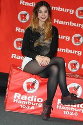Lena Meyer Landrut at Radio Hamburg -11