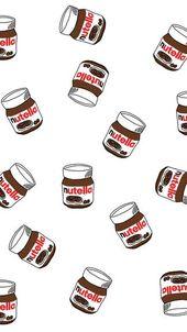 iphone fondo de pantalla Nutella Pots iPhone 5C / 5S fondo de pantalla