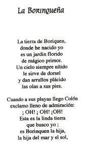 La Borinqueña Revolucionaria Letra Puerto Rico Usa Puerto Lyrics Story Dreamville Fra Puerto Rico Food Puerto Rican Culture Puerto Rican Pride