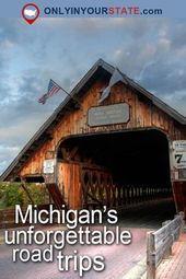 Resa   Michigan   Sevärdheter   USA   Great Lakes   Road Trips   Saker att göra …