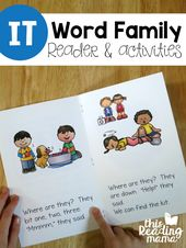 Erfahren Sie, wie Sie IT Word Family Reader & Activities lesen – Best of This Reading Mama