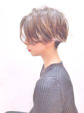 劇的に変化 ショート襟足スタイル集 ベリショ 伸ばしかけまで Hair ショート 襟足 襟足 刈り上げ 髪型