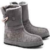 Zdar Maksim Szare Filcowe Sniegowce Damskie Boots Ugg Boots Shoes