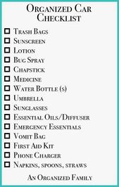 An Organized Household – Organizing Street Journeys with Children! Comes with plenty of ideas a…