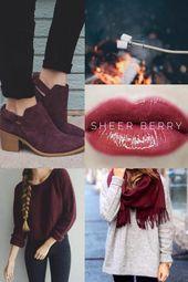 Sheer Berry! Love this shade!