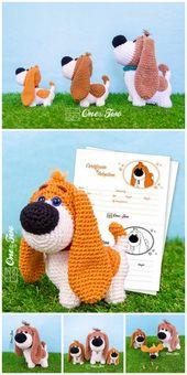 Crochet dachshund dog amigurumi free pattern – Free Amigurumi Patterns
