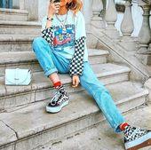 """🤐 auf Instagram: """"#vintage #quirkyfashion #brightcolors #brightcolours #lay …   – Vintage Kleid – #auf"""
