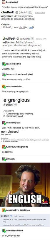 19 Mal machte die englische Sprache überhaupt keinen Sinn   – Funny