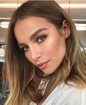 Sommer Make-up Ideen Warm Bronze Make-up Natürliches Make-up Frisches Gesicht Make-up Ideen Wa