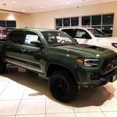 2020 Tacoma TRD Pro – Armee-Grün   – Toyota Tacoma