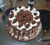 Chocolate n coffee cheesecake – with Milka, original idea with base coffee chees…