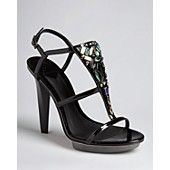 B Brian Atwood Platform Evening Sandals – Donosa High Heel – The shoe closet {of my dreams}