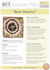 Bean Mosaics: Free Lesson Plan Obtain