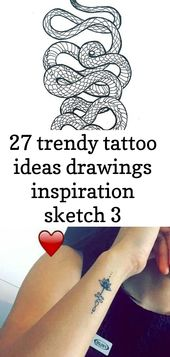 27 trendy tattoo ideas drawings inspiration sketch 3