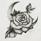 Rose Tätowierung