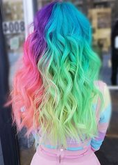 Something Which Attracts More Simple Multi Colors   – Hair style