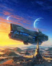 Artist: Elias Stern . . . . . #scifidaily #scifi #scifiworld #sciencefiction #scifimovies