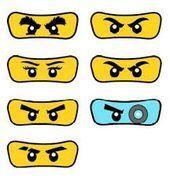 Image Result For Ninjago Eyes Template Eyes Image Result Ninjago Template Eyes Imag In 2020 Ninjago Einladungskarten Lego Geburtstagsparty Ninja Geburtstag