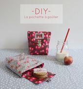 Artwork + Illustration I Weblog I DIY: la pochette à goûter