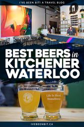 Kitchener-Waterloo Breweries That Are Severely Pitcher Good