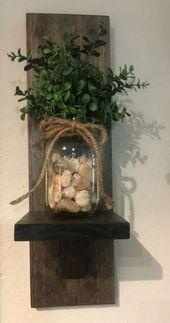 Farmhouse decor shelves mason jars 44+ ideas