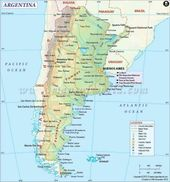 Cool free map of argentina holidaymapq pinterest free maps cool free map of argentina holidaymapq pinterest free maps argentina and argentina map gumiabroncs Image collections