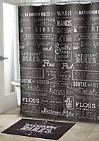 Avanti Avanti Modern Farmhouse Shower Curtain Farmhouse Shower