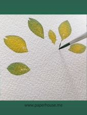 """Photo of Watercolor Paintings?www.paperhouse.me?Get $3 with code """"PIN3""""?Paperhouse Stationery"""
