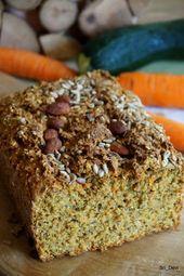 Pan de calabacín y zanahoria y cilantro   – Brötchen & Brot selber backen